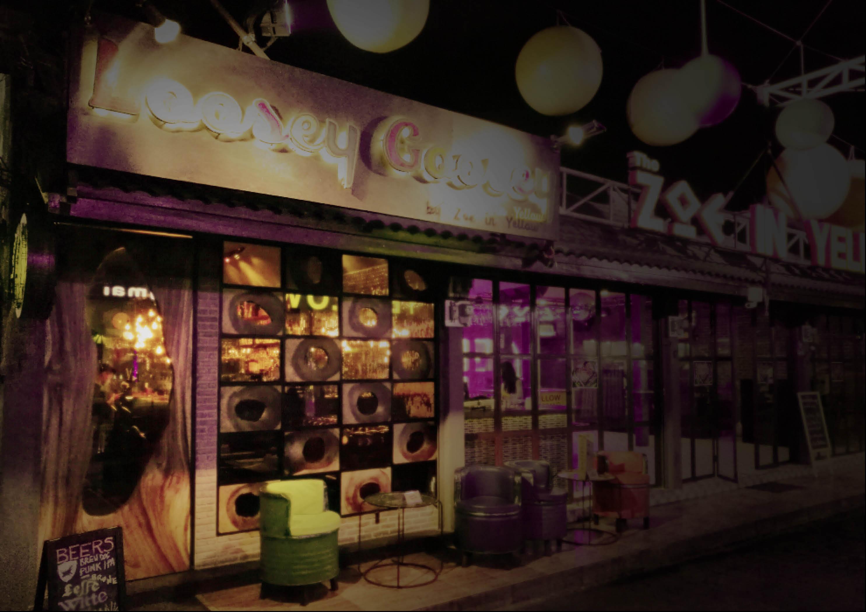 Loosey Goosey Cocktail Bar/Chiang Mai/Interior Design/Stubley Studio