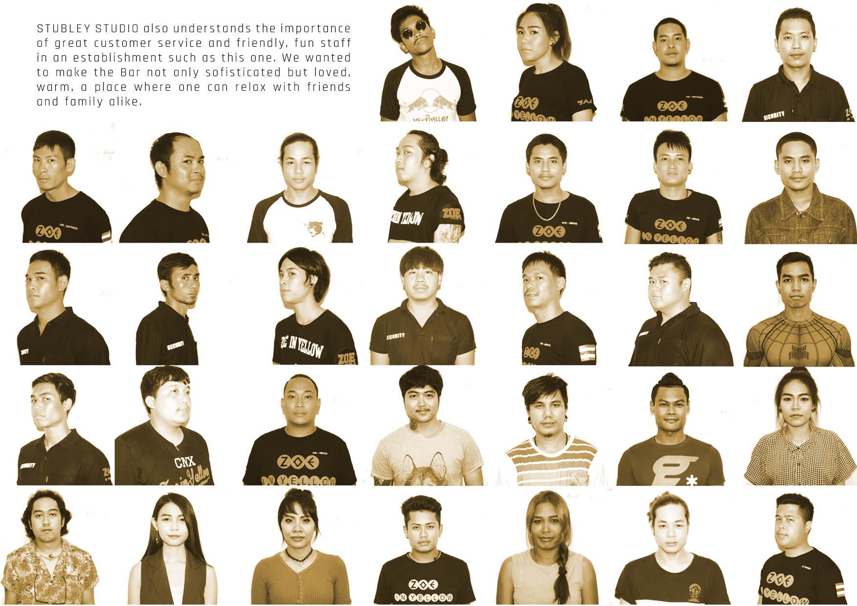 Loosey Goosey Portraits/Chiang Mai/Graphic Design/Stubley Studio