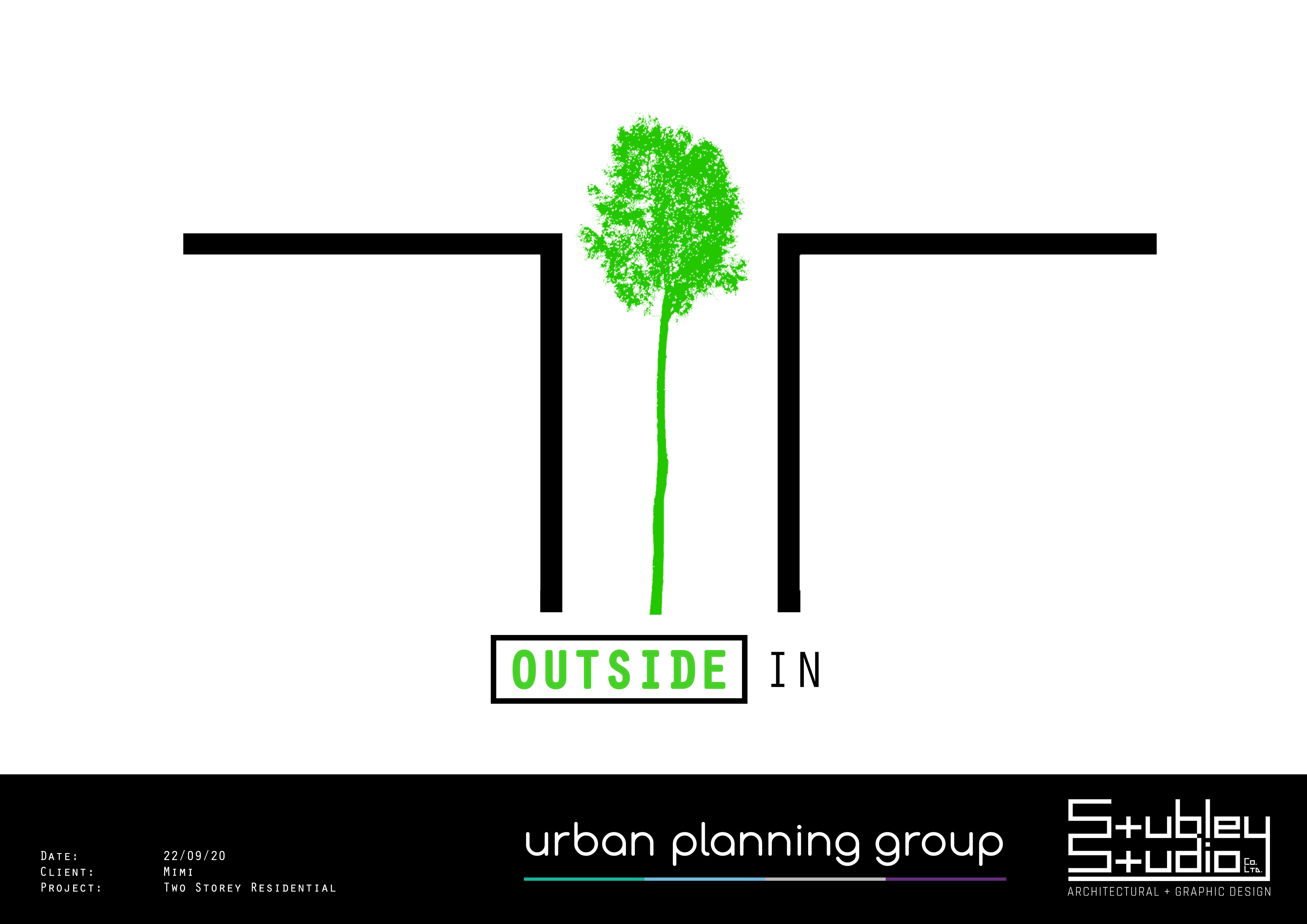 STUBLEY STUDIO + URBAN PLANNING GROUP/Architecture/Outside In House